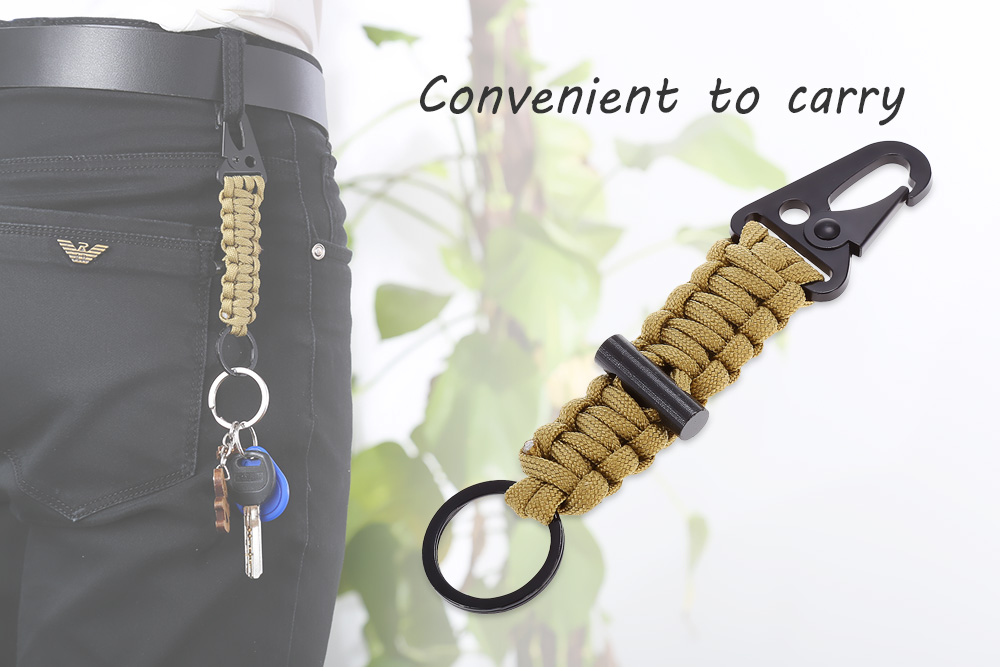 Outdoor Emergency Cord Braided Rope