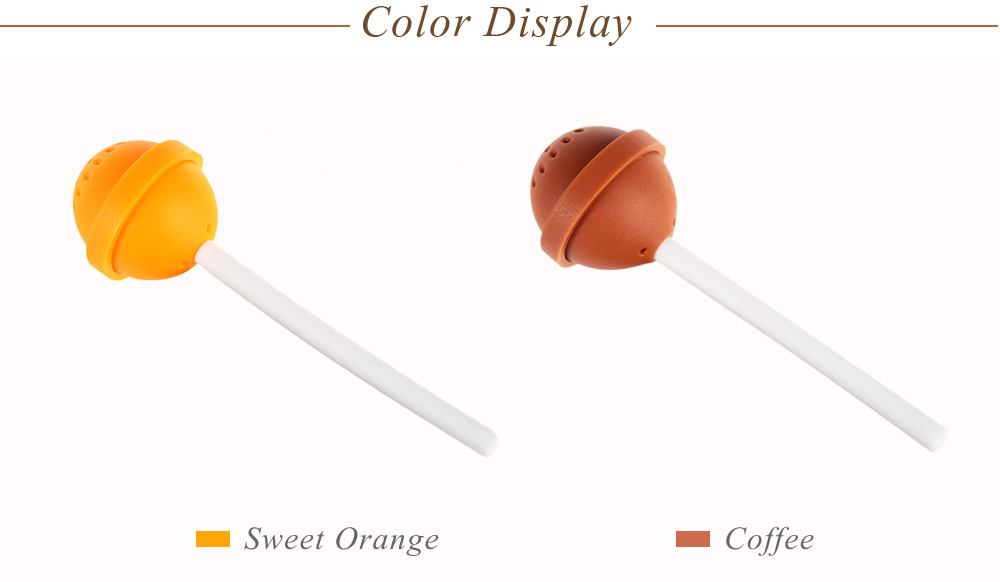 Colorful Sweet Candy Shape Silicone Tea Infuser Filter