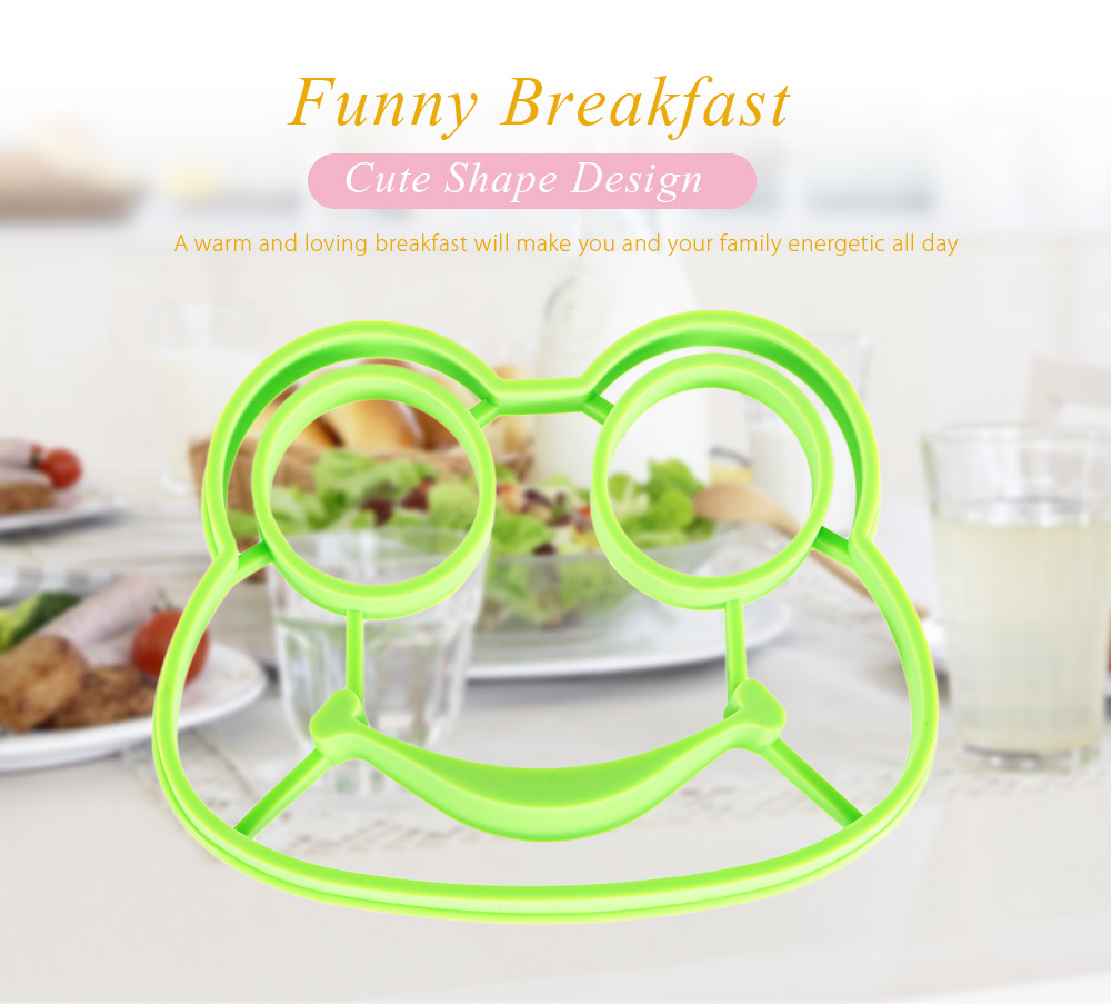 Creative Frog Shape Silicone Fried Breakfast Egg Mold