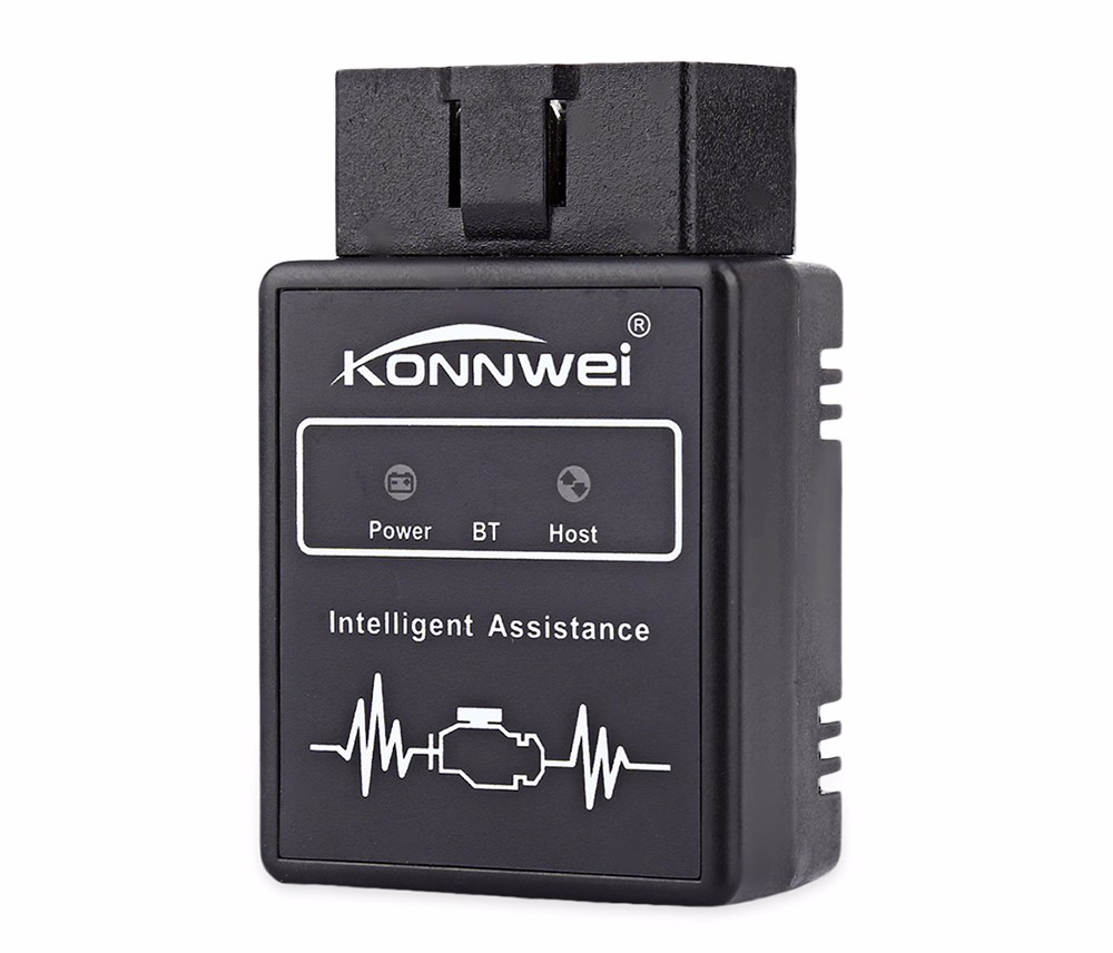 Konnwei KW912 Bluetooth OBD2 Auto Scanner Adapter Scan Tool Fault Diagnostic Interface Checker