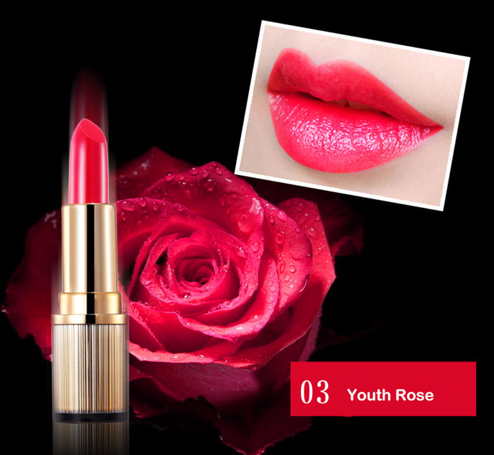 Guppy  Makeup Rose Essence Nourishment Lasting Lip Balm