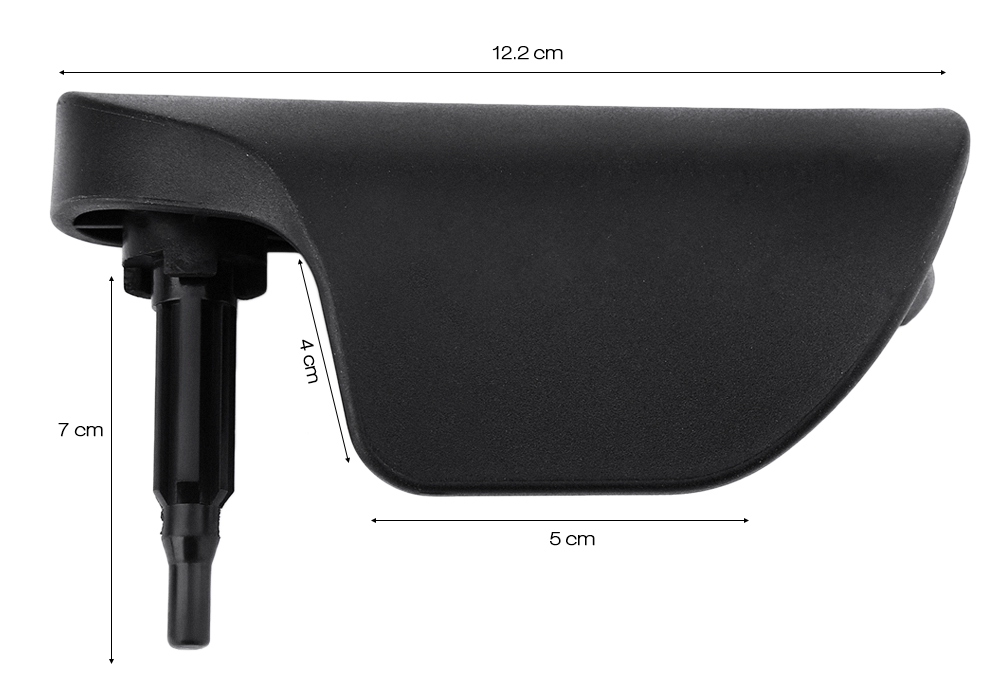 Automobile Engine Cover Handle Durable Plastic Material for Volkswagen