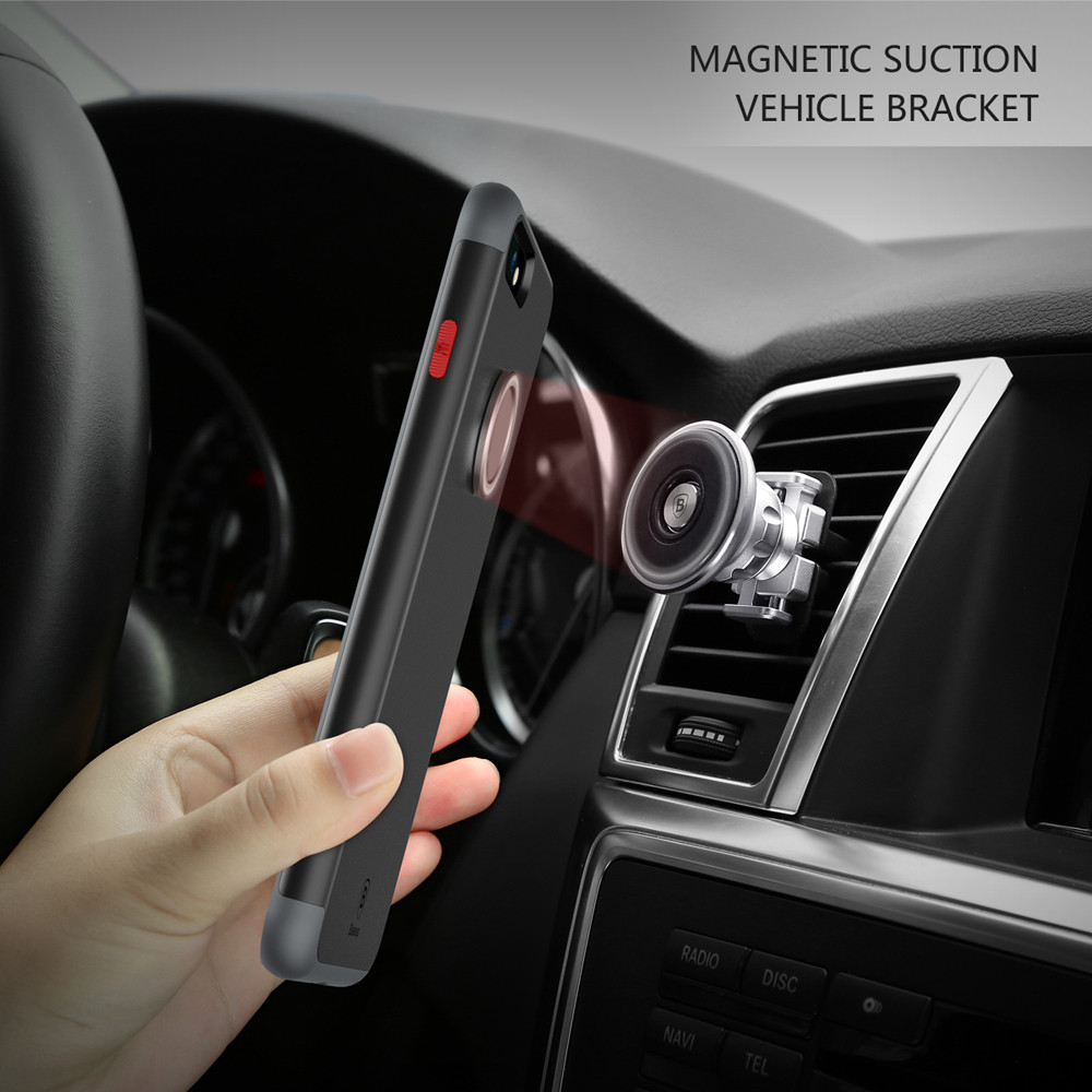 Baseus WIAPIPH7 - CH01 Magnetic Ring Case for iPhone 7 Plus 5.5 inch