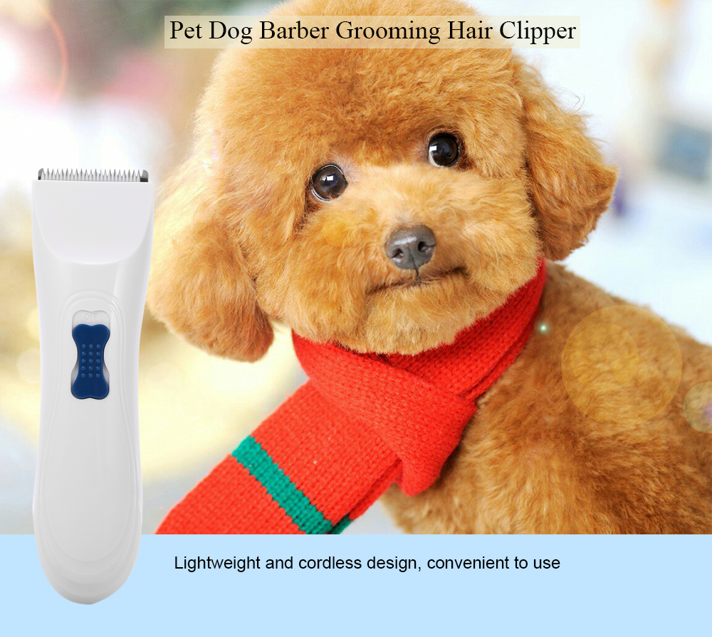 Electric Power Low Vibration Pet Dog Barber Grooming Hair Clipper Set