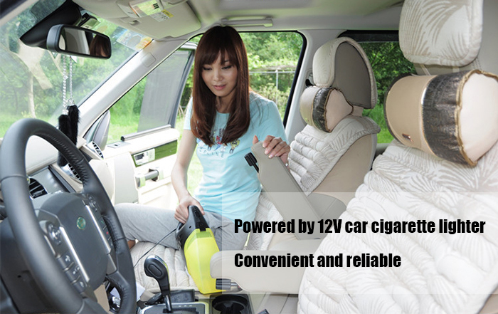 55W Car Vacuum Cleaner Portable Handheld Dust Collector Super Suction Aspirador