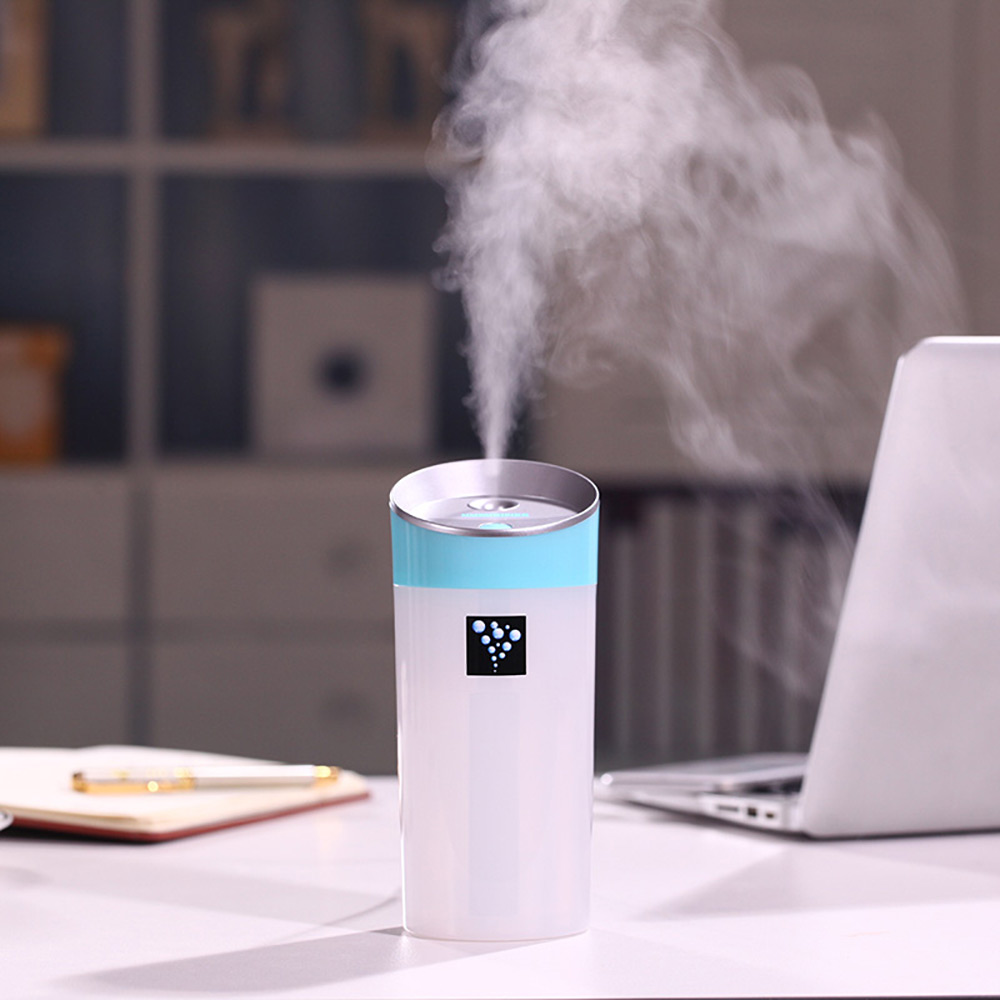 300ml Ultrasonic USB Mini Cup Humidifier for Bedroom Living Room