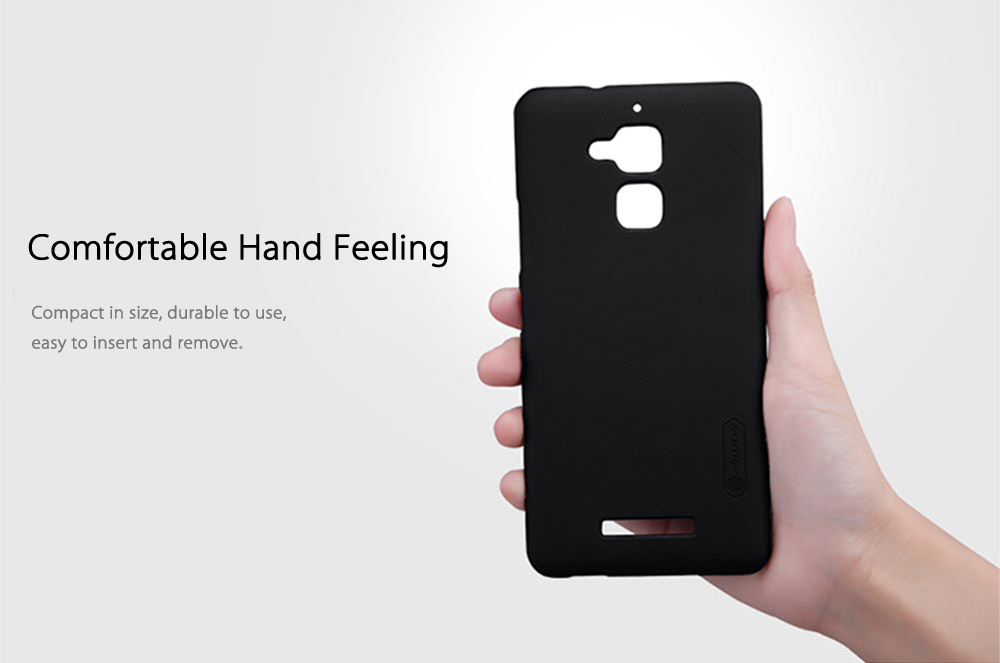 NILLKIN F - HC AS - ZC520TL Frosted Shield Phone Case Screen Cover for ASUS Zenfone 3 Max