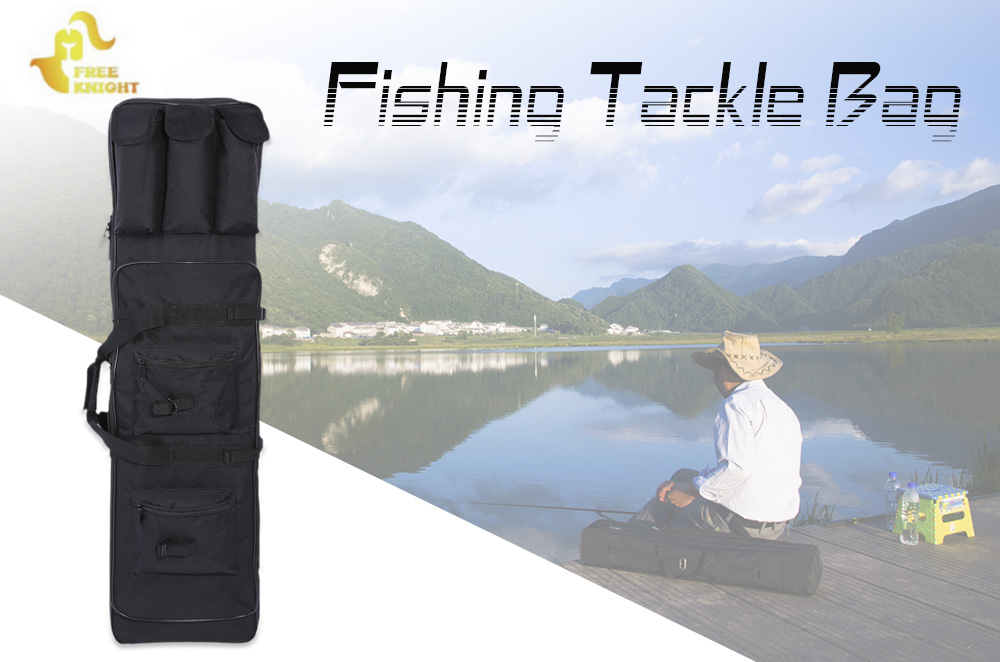 Free Knight 1M Fish Bag Fishing Tackle Multifunctional Fishing Rod Pouch