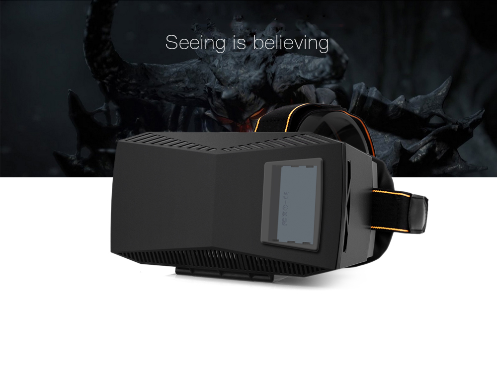 3D Movie Game Bluetooth V4.0 Glasses for 4.7 - 5.5 inch Phone with Remote Controller