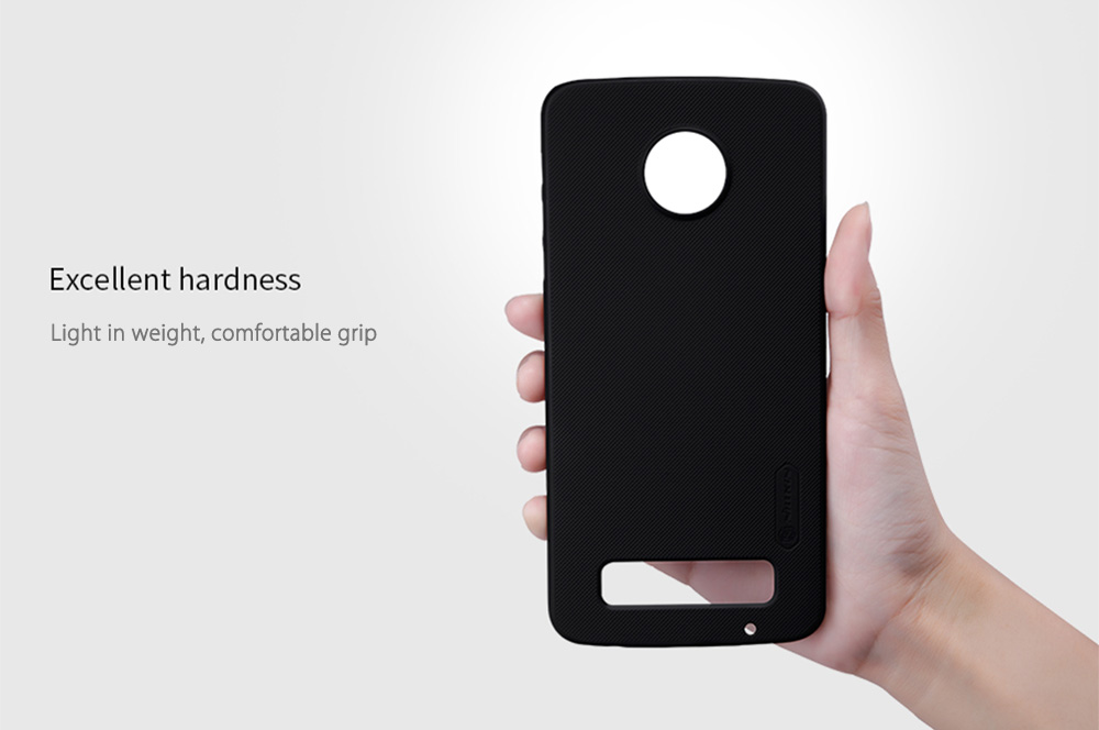 NILLKIN F - HC Frosted Shield Back Cover for MOTO Z Play