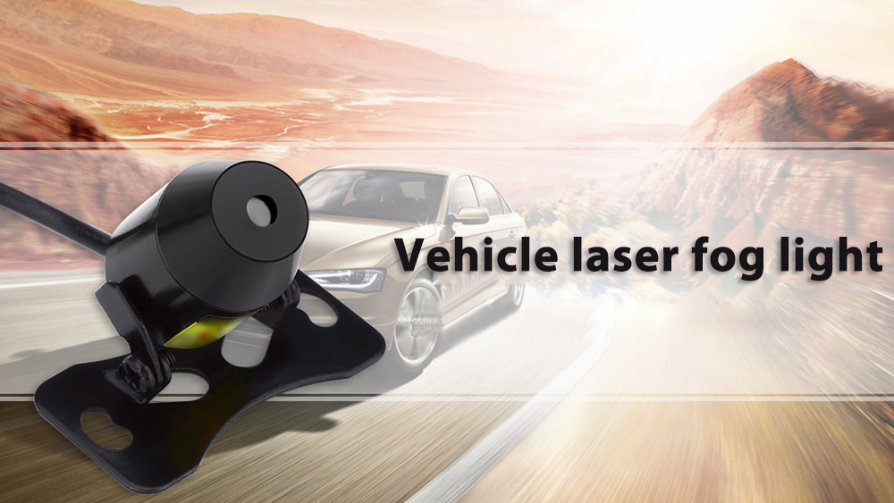 Vehicle Laser Fog Light Skull Pattern Rear-end Collision Avoidance Motorcycle Indicator Lamp Car Warning Tool