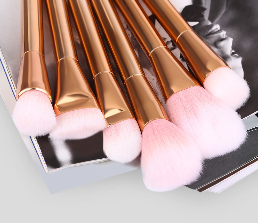 15pcs Blending Pencil Cosmetic Makeup Tool Powder Foundation Brushes