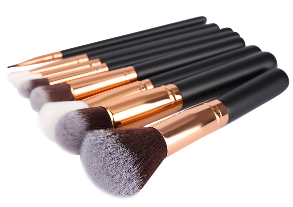 8pcs Superior Cosmetic Fiber Brushes Makeup Tools Kit