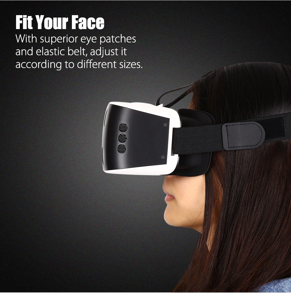 VR MASTER 506 3D Virtual Reality Glasses Headset Video Game Box