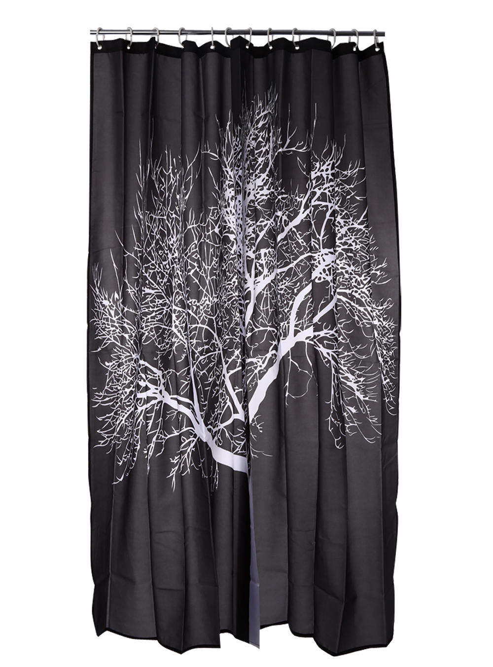 Snow Tree Water-resistant Bathing Shower Curtain Bathroom Decor