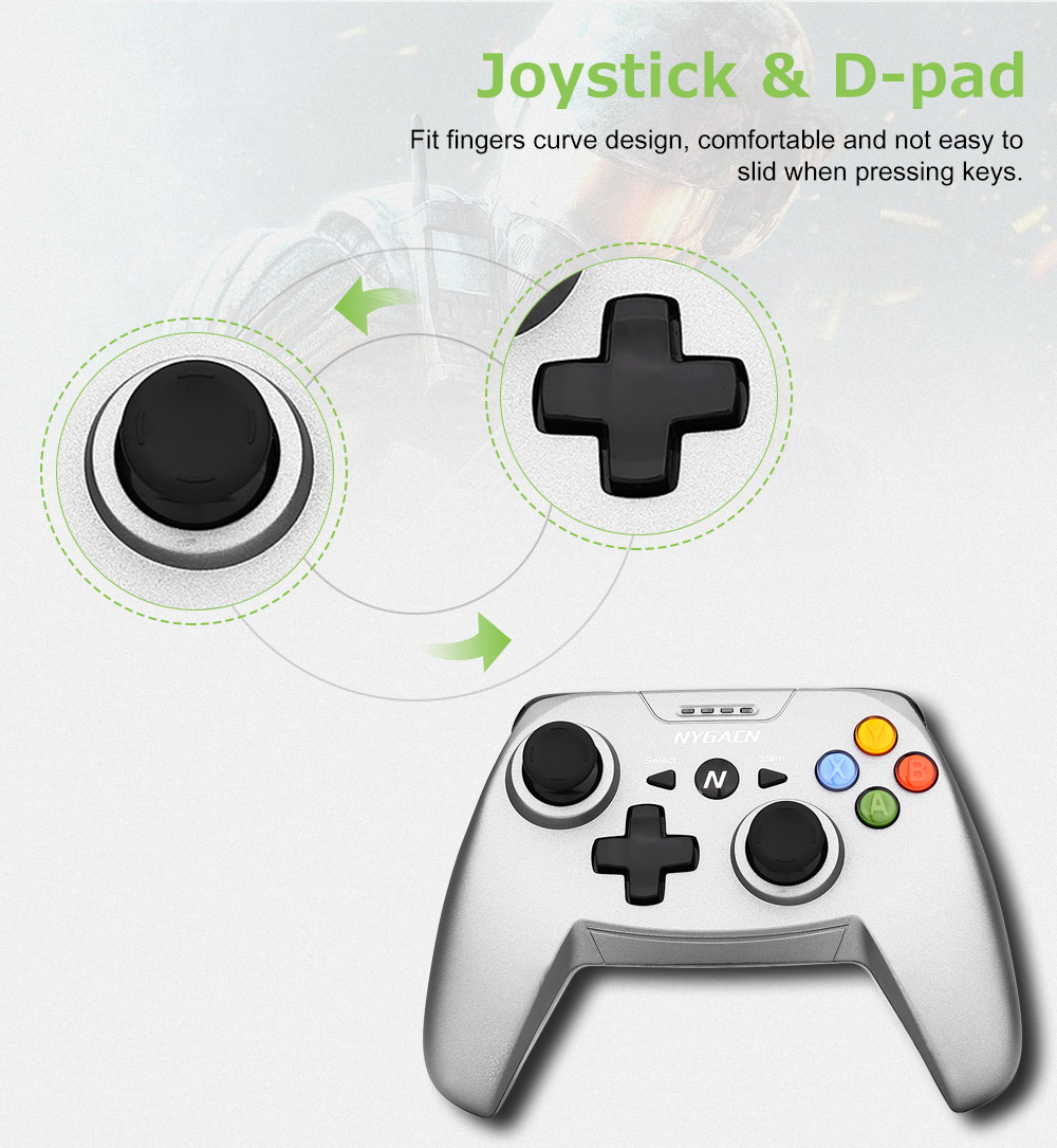 NYGACN NJA311 Bluetooth Wireless Joystick for Android Phone