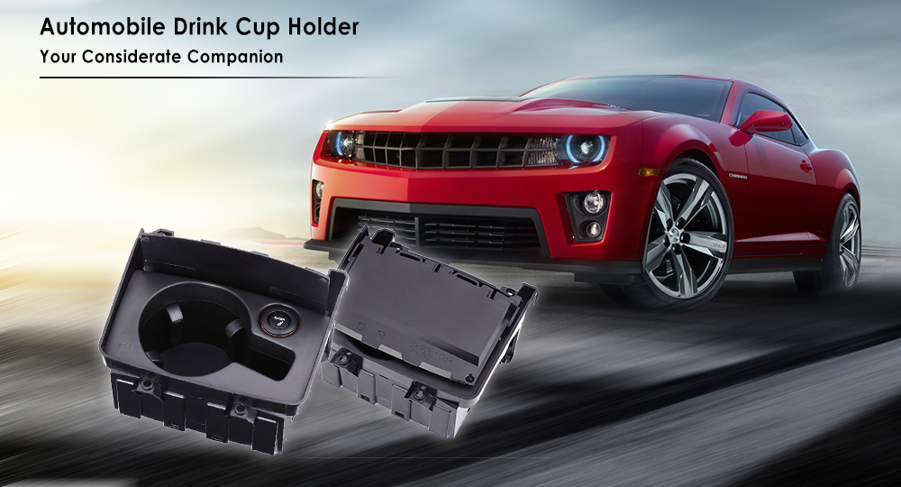 Automobile Storage Armrest Box Drink Cup Holder for Audi Automatic Cover Design