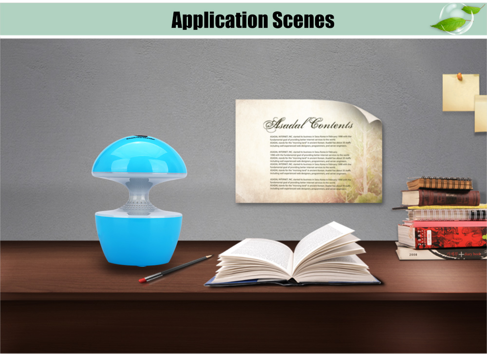 T10 5W Creative USB Powered LED Night Light Touch Dimmable Table Lamp with Speaker