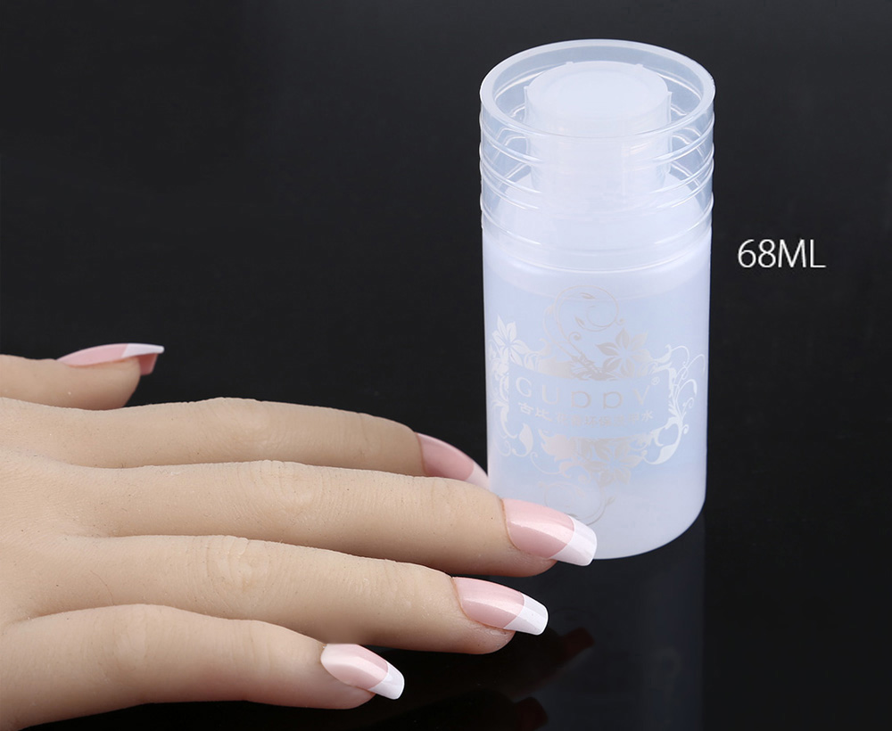 Guppy 68ml Environmental Nail Polish Liquid Remover Flower Scent Non-stimulant Gel Varnish Cleaner