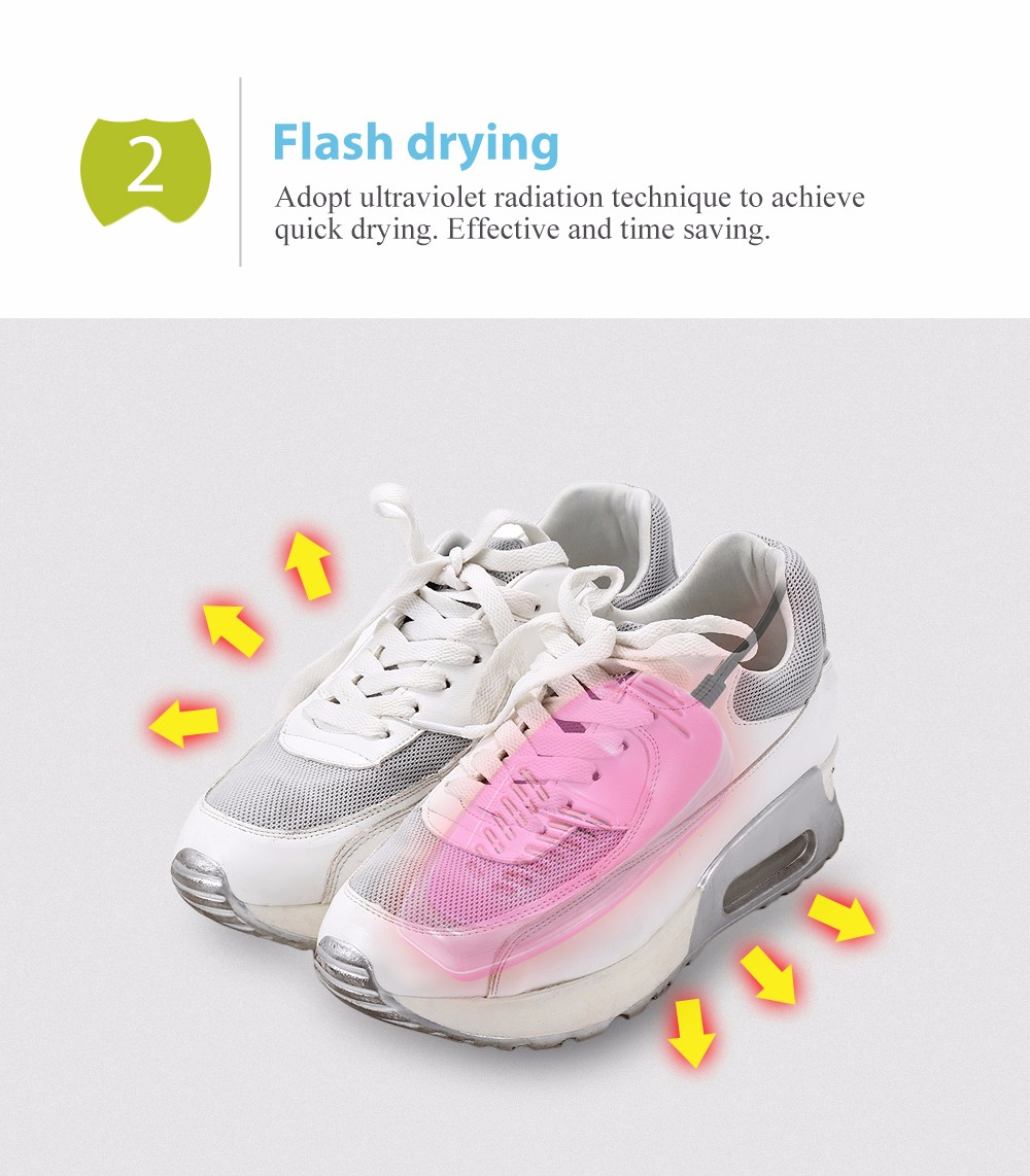 Portable UV Electric Shoes Dryer Boot Warmer Footwear Drying Heater