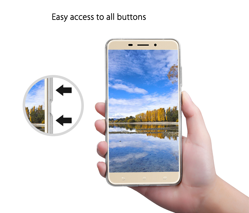 NILLKIN Natural Series TPU Transparent Cover for Asus Zenfone 3 Laser
