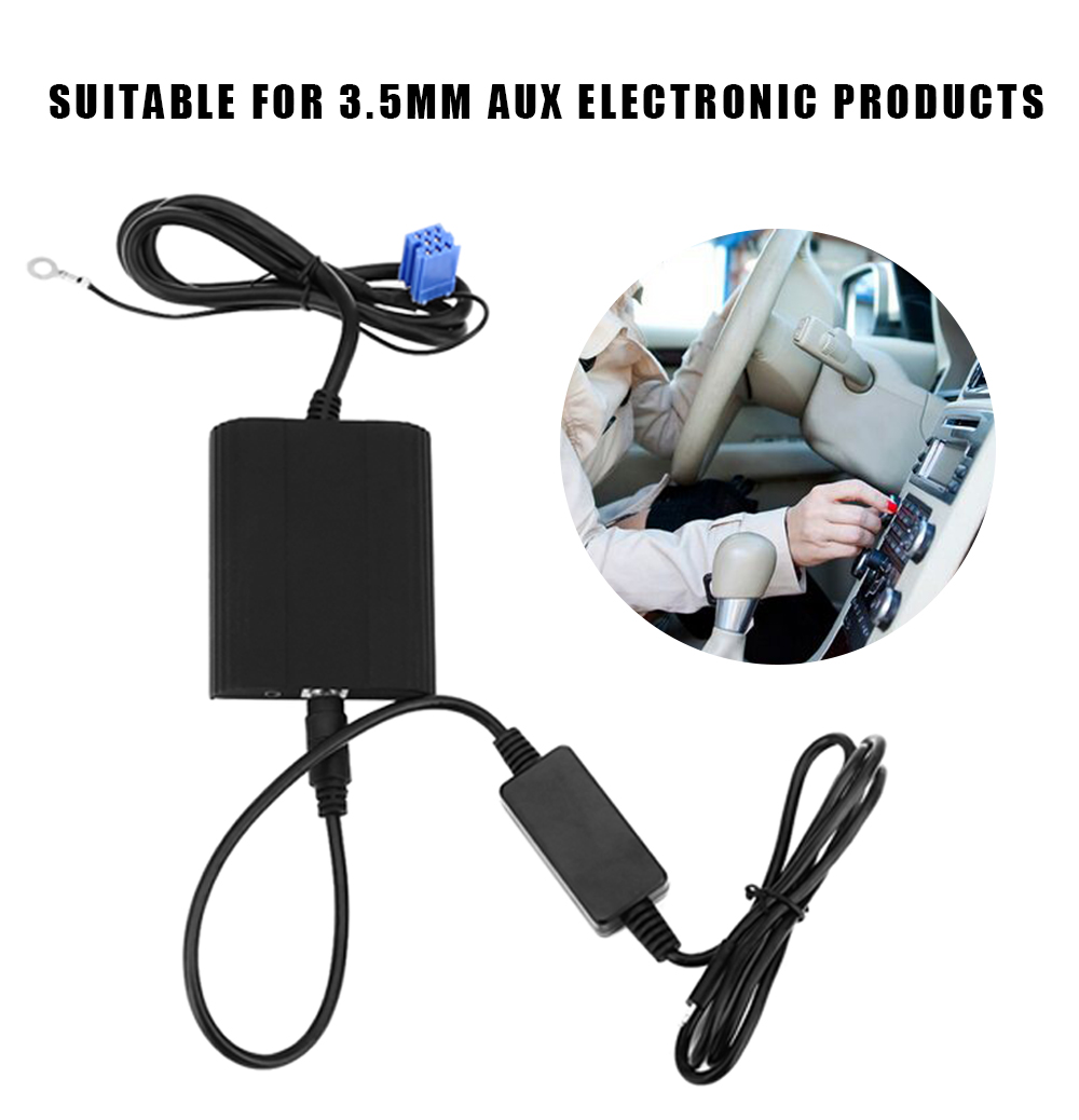 WT - IP5 8 Pin Car Charger Adapter for Volkswagen Vehicle MP3 Player Digital CD Box