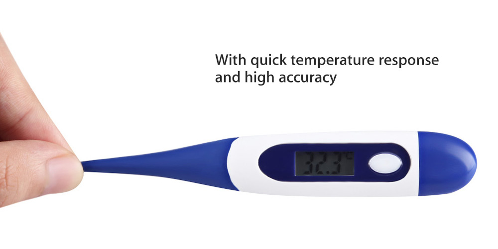 Pen-shape LCD Digital Clinical Thermometer for Adult Kids Baby Detect Fever