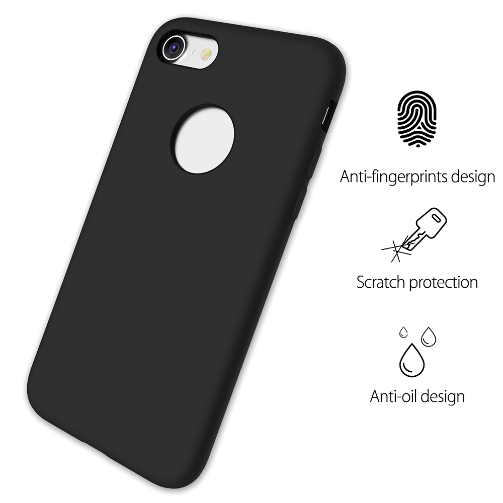ROCK Soft Touch Flexible Silicone Back Case for iPhone 7