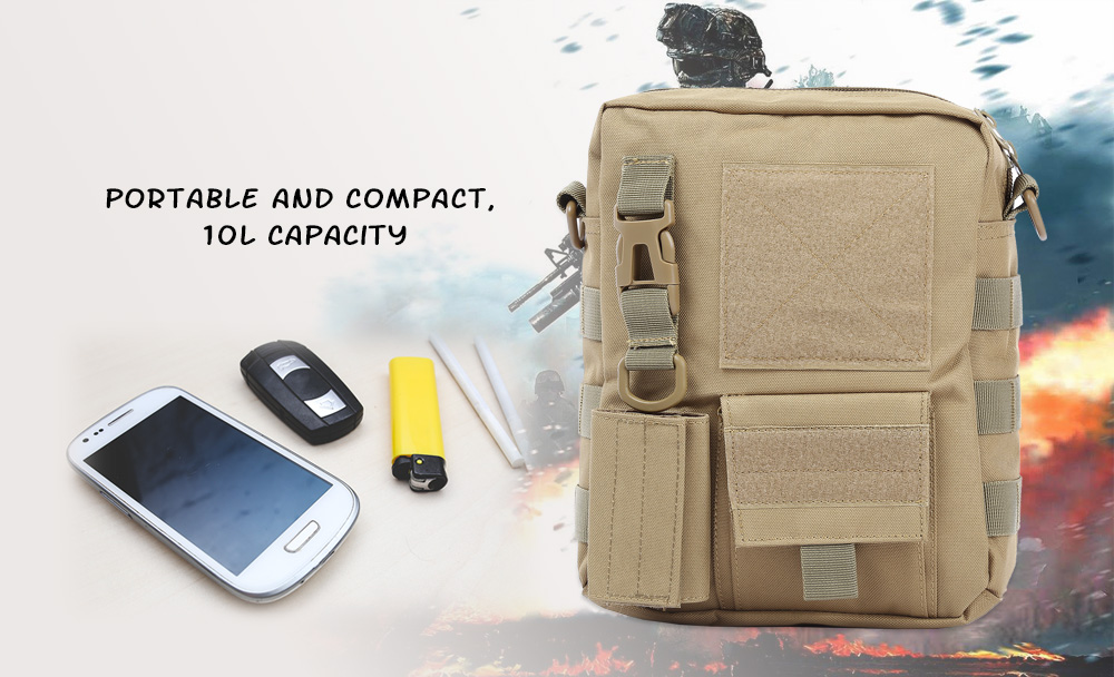 FREEKNIGHT BL086 Outdoor Water Resistant Tactical Single Shoulder Bag Camping Hunting Military Camouflage Pack