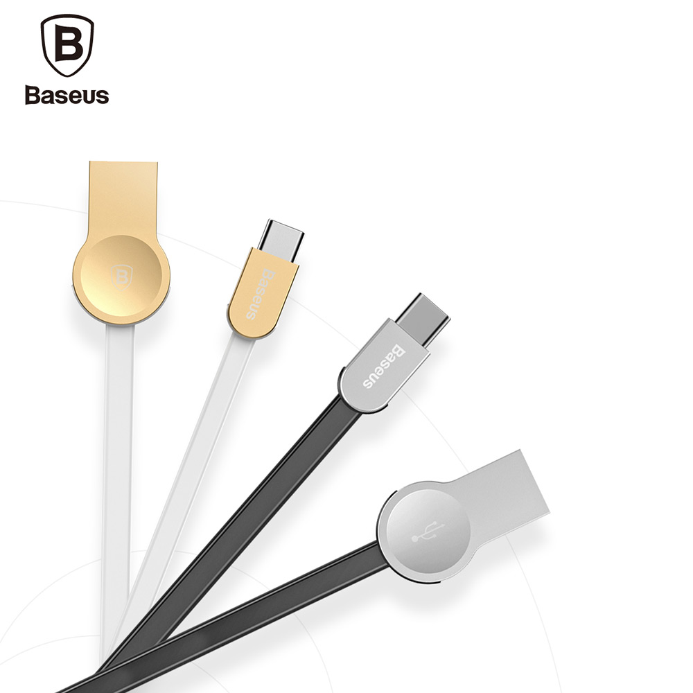 Baseus CATKB - 01 Keyble Zinc Alloy Type-C Charge Data Transfer Cable 1M