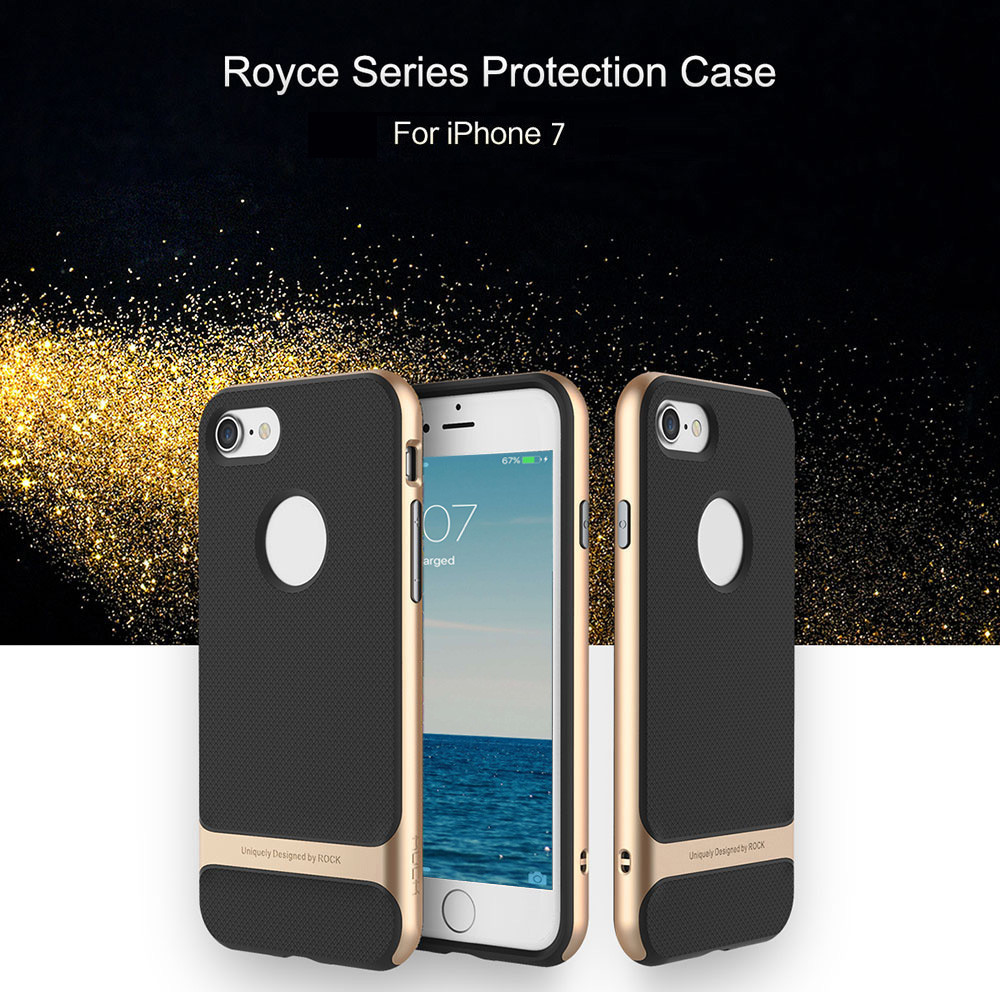ROCK Royce Series Business Style Protective TPU Shell for iPhone 7