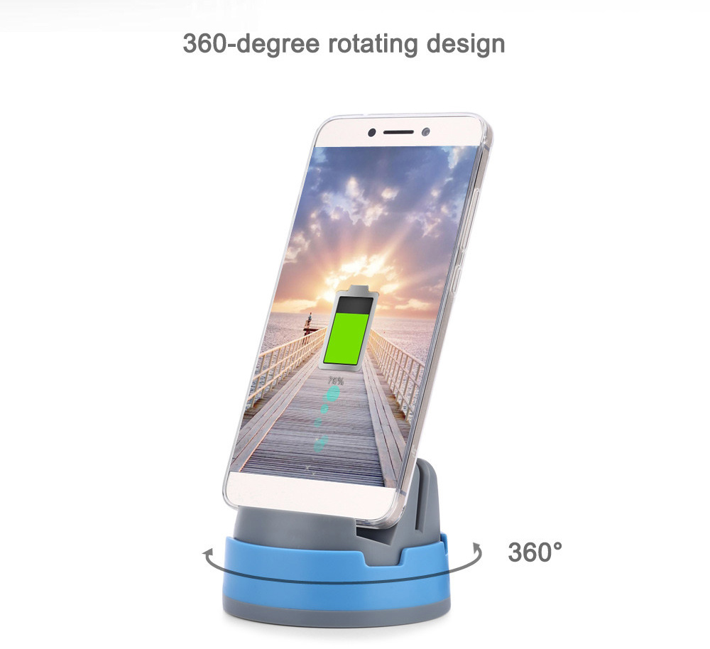 360 Degree Rotating Type-C Mobile Phone Charging Holder