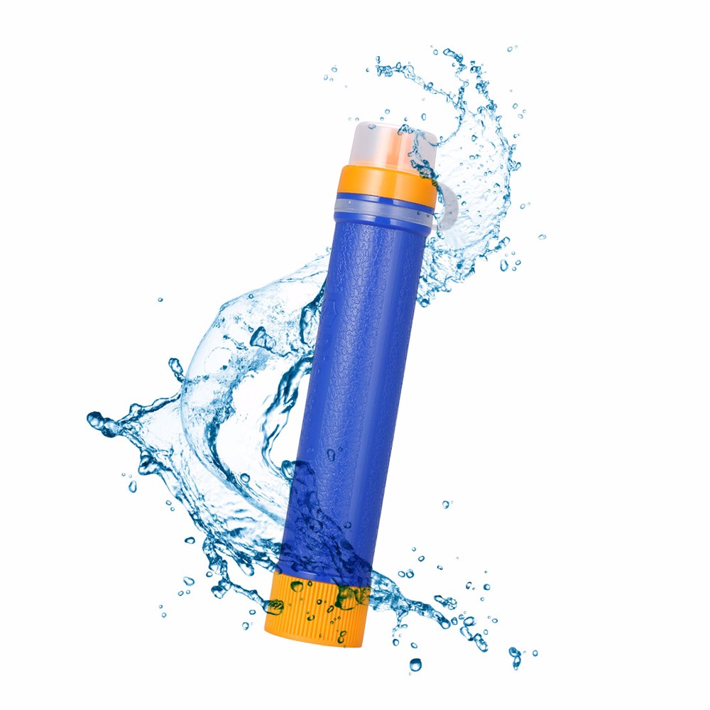 Diercon Mini Water Filter Straw Purification System Pathogens Removal for Camping Hiking