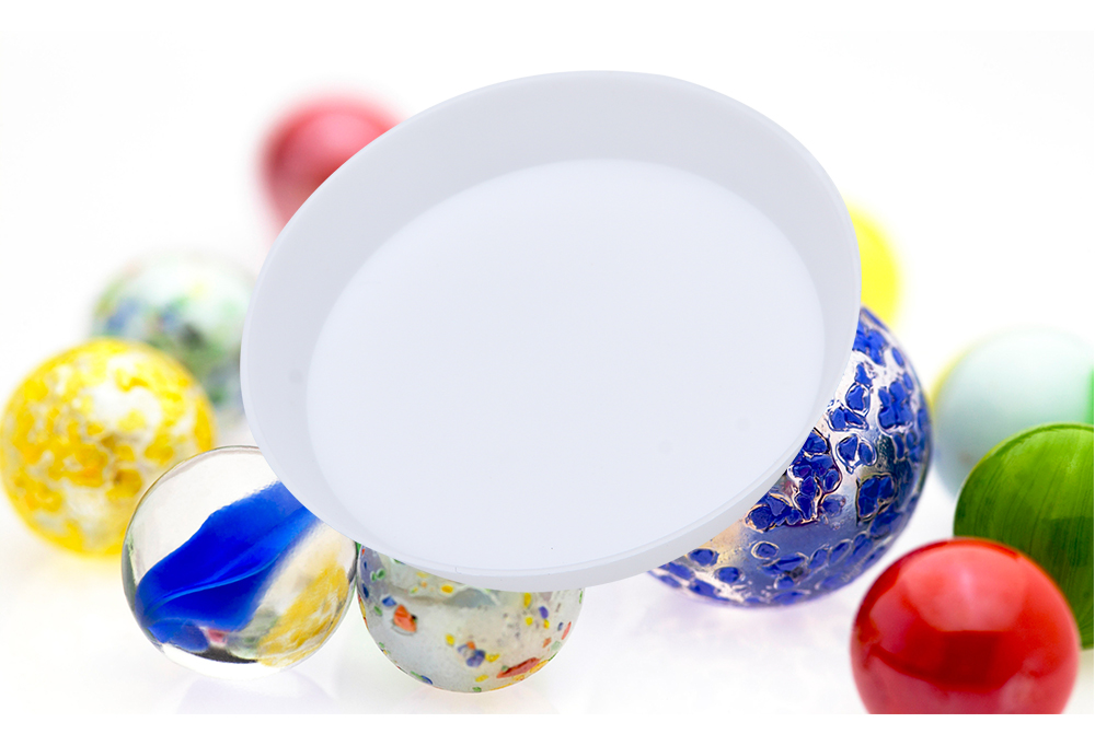 Plastic Round Dish Small Components Collection Plate
