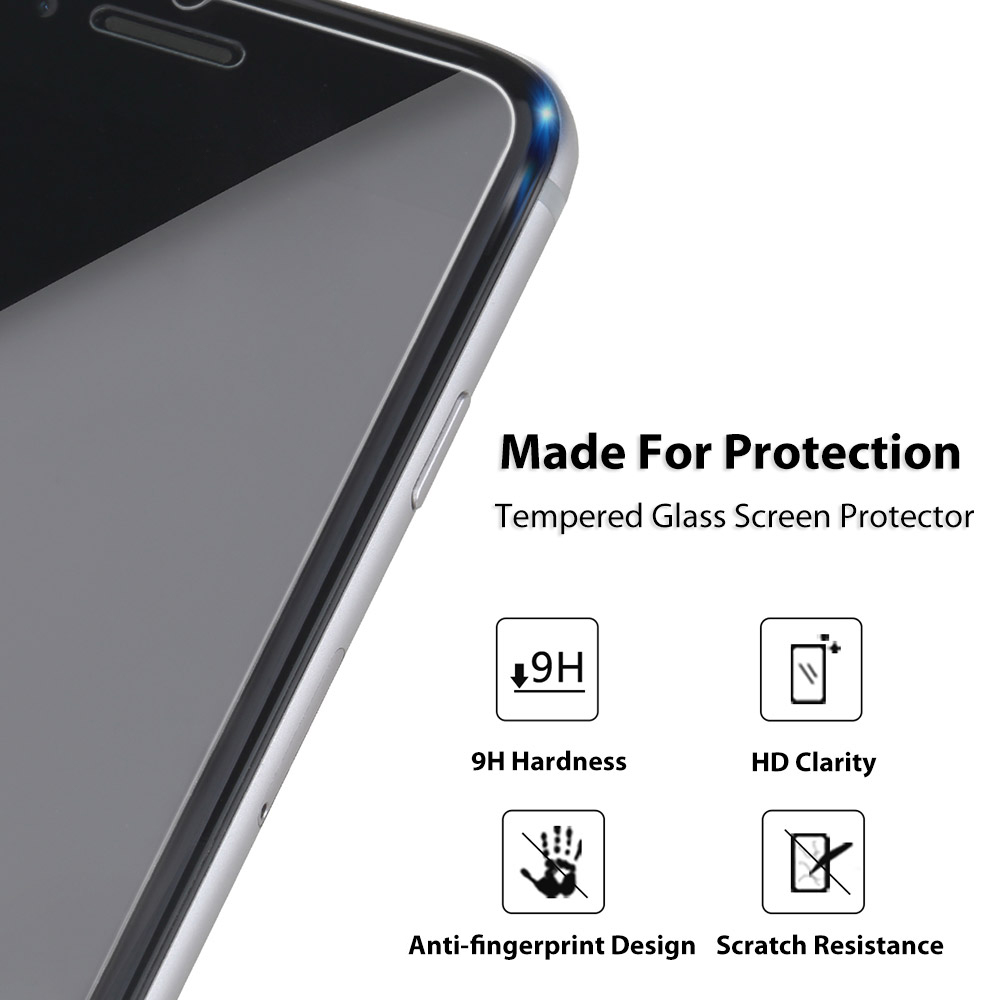 ROCK 2.5D Curved Tempered Glass Shatterproof Non Full Screen Protective Film for iPhone 7 Plus 0.3MM