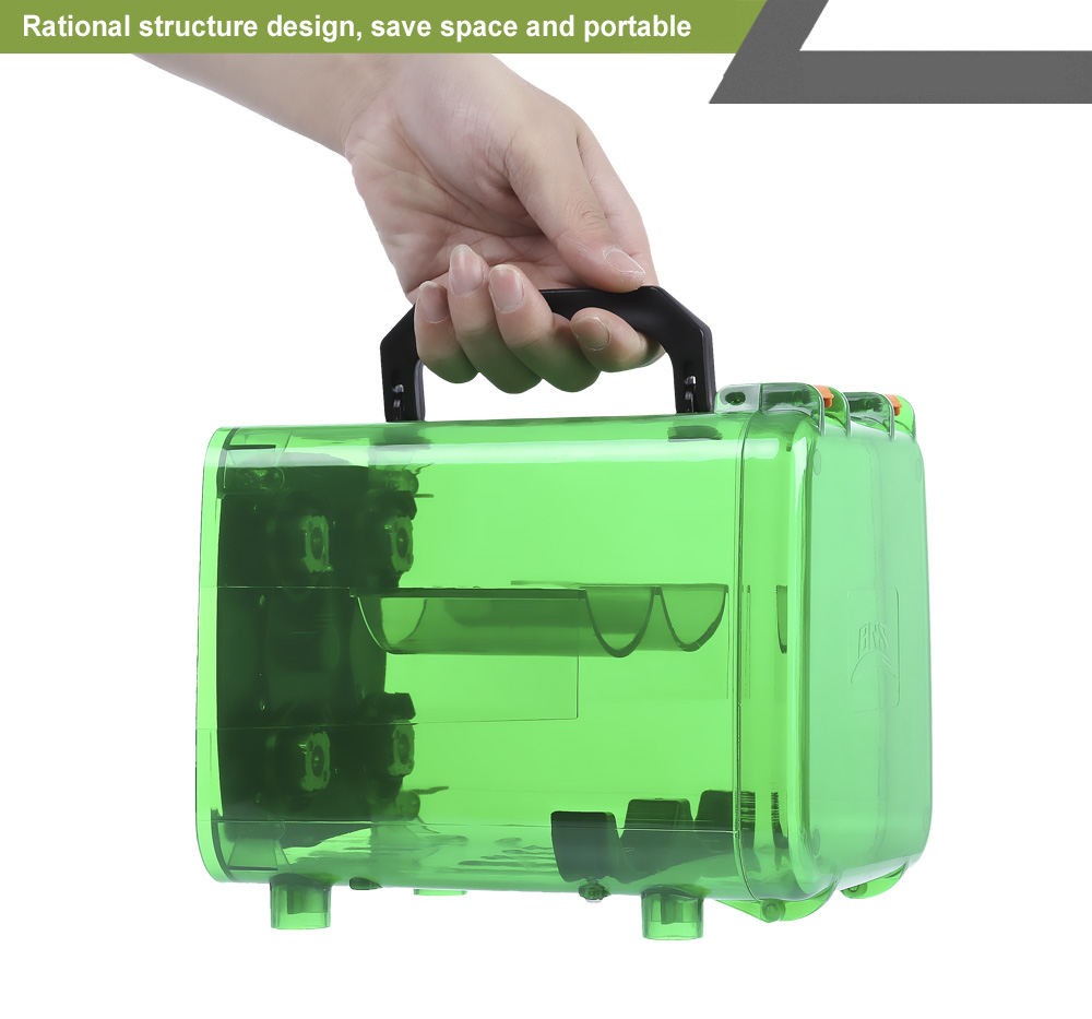 BRS - Q5 Outdoor Power Gas Tank Bin Unit for Picnic Camping Travel