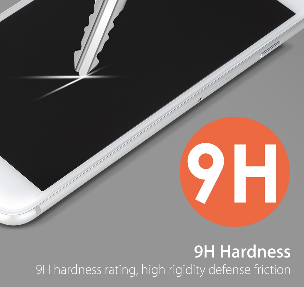 ROCK 2.5D Curved Tempered Glass Shatterproof Full Screen Protective Film for iPhone 7