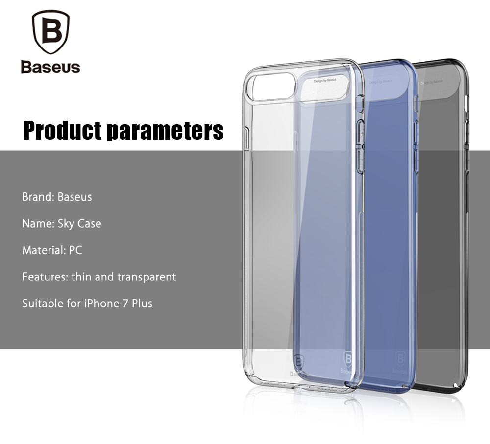 Baseus Sky Case Back Cover for iPhone 7 Plus 5.5 inch