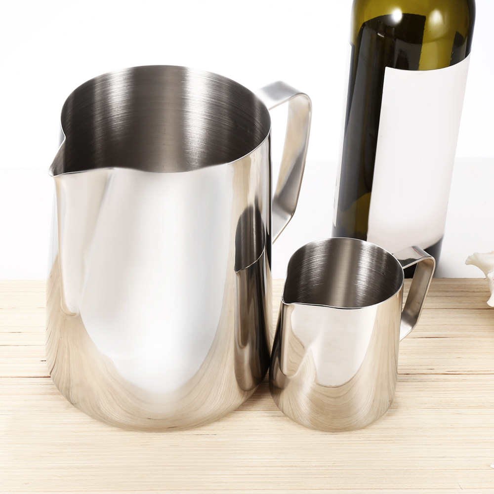 350ml Stainless Steel Coffee Milk Pitcher Frothing Cup