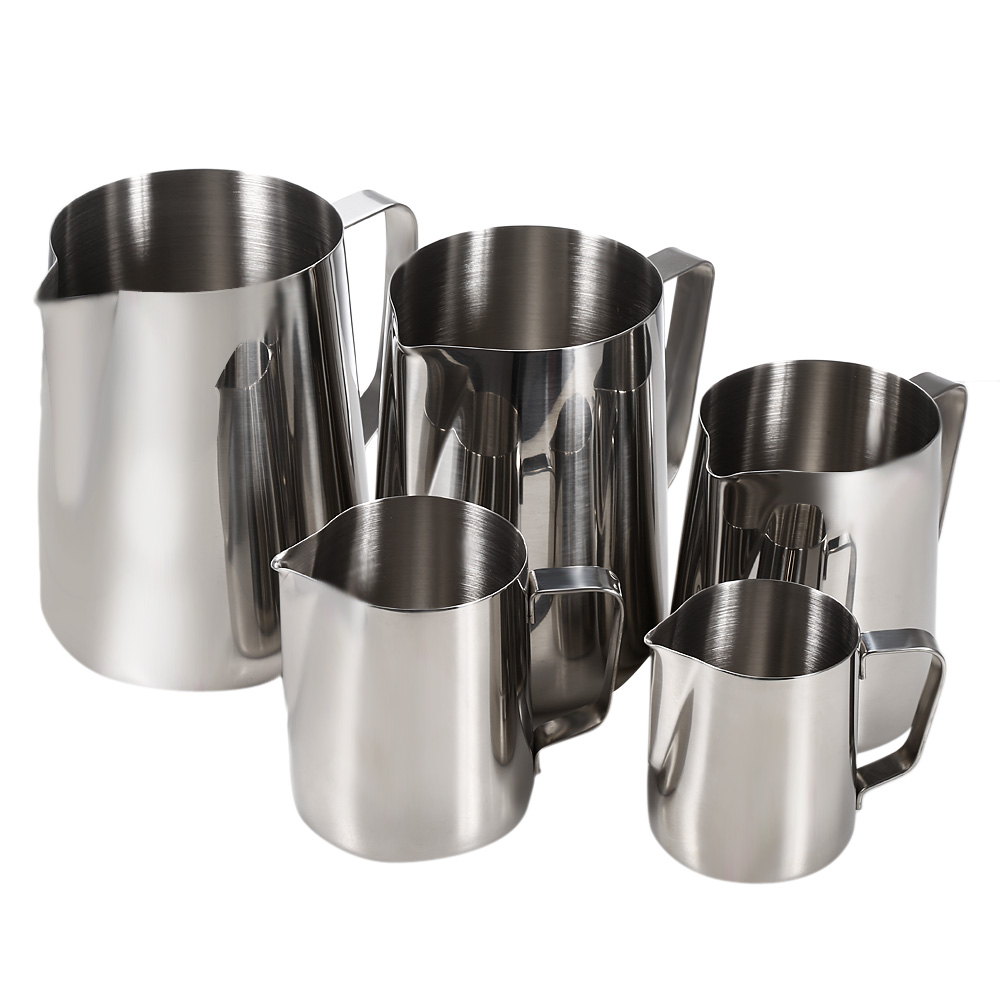 1000ml Stainless Steel Coffee Milk Pitcher Frothing Cup