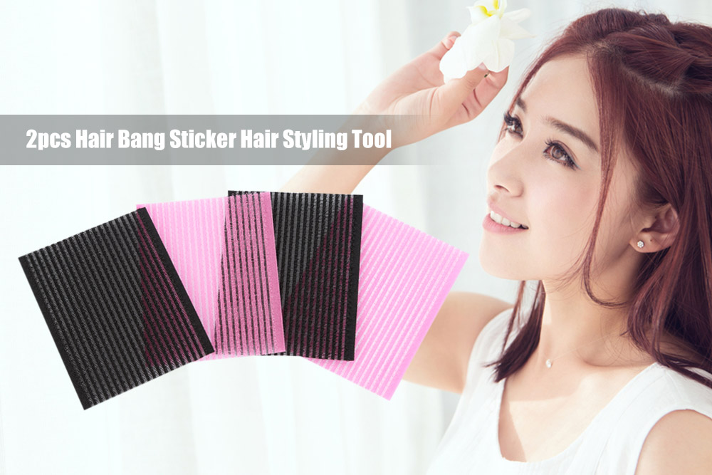 2pcs Hair Bangs Sticker Styling Tool