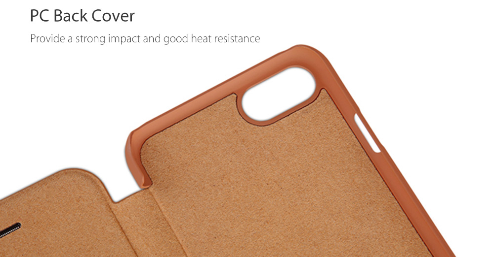 NILLKIN Q - LC QIN Series PU Leather Protective Skin for iPhone 7