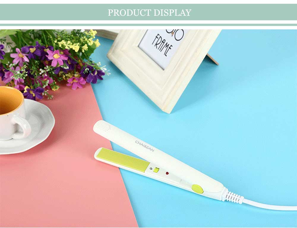 CHAOZAN Fashionable Mini Candy Color Portable Enameled Perm Splint Hair Straightener
