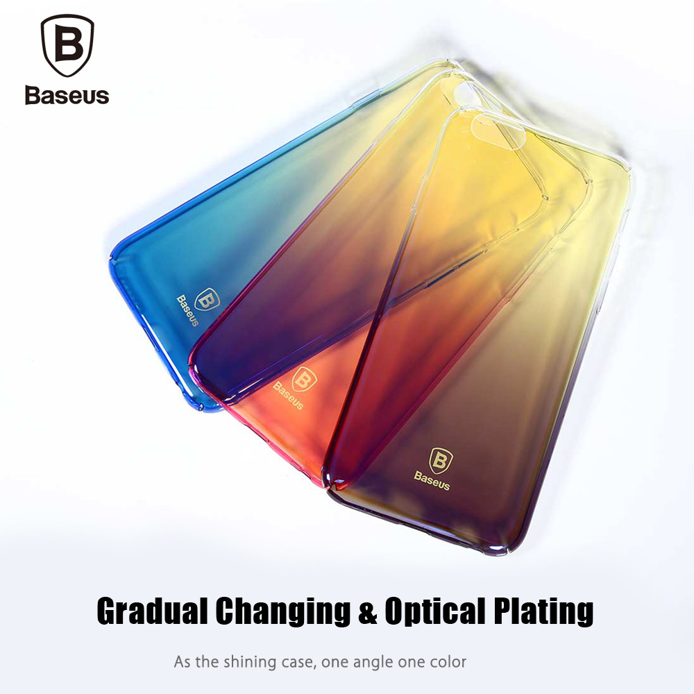 Baseus Glaze Case Ultra Slim PC Protective Skin for iPhone 6 Plus / 6S Plus