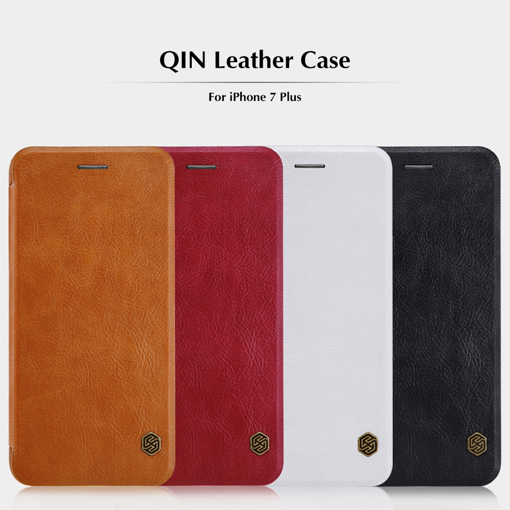 NILLKIN Q - LC QIN Series PU Leather Protective Skin for iPhone 7 Plus