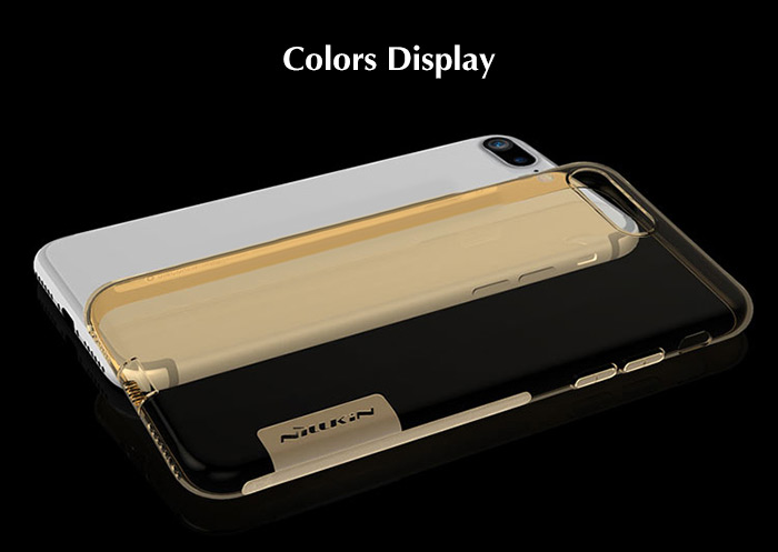 NILLKIN Natural Series Soft TPU Transparent Protective Skin for iPhone 7 Plus