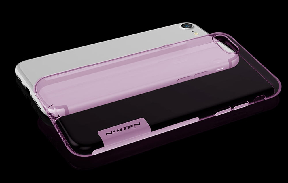 NILLKIN Natural Series Soft TPU Transparent Protective Skin for iPhone 7