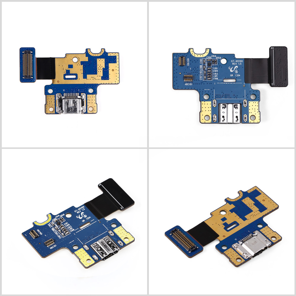 USB Charging Board Flex Cable Microphone for Samsung Galaxy Note 8.0 N5110
