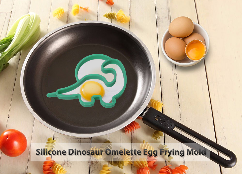 Silicone Dinosaur Omelette Egg Frying Pancake Cooking Mold