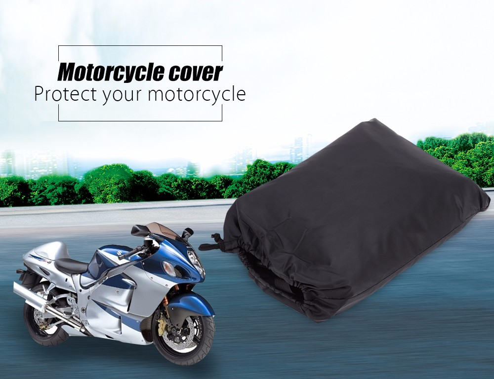 Motorcycle Cover Waterproof Rain Dust UV Protection Dustproof Covering Cloth